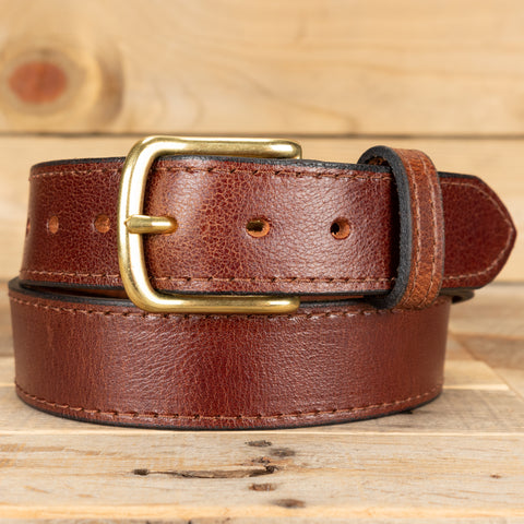 Water Buffalo Brown Casual Belt