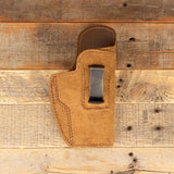 Clip Holster Brown Leather