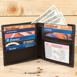 Alligator Brown ID Wallet