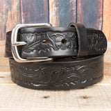 Black Embossed Bridle
