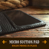 micro suction leather iPhone case