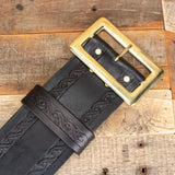 Santa Leather Belt