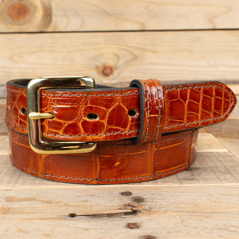 Genuine Alligator Belt