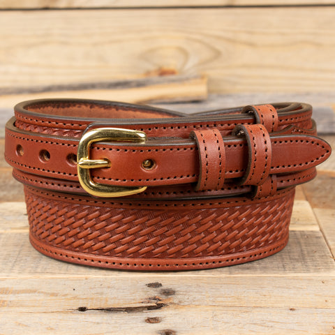Brown Ranger Leather Belt
