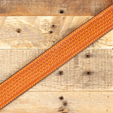 Basketweave Ranger Belt Tan