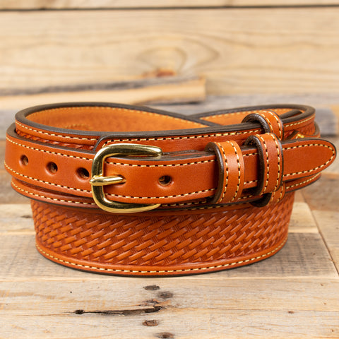 Chestnut Brown Ranger Belt