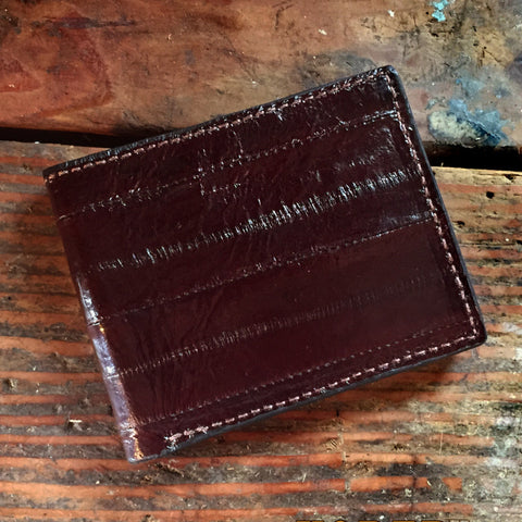 Brown Eel Leather