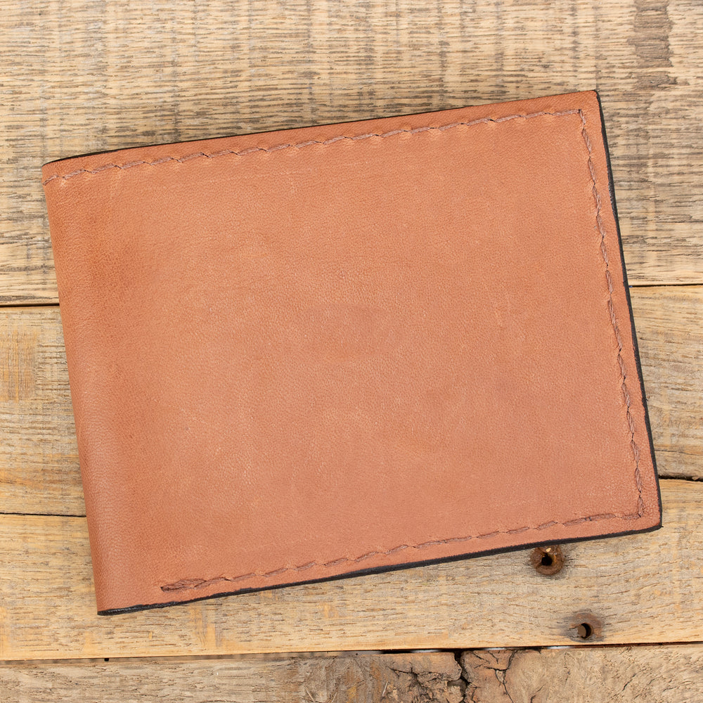 Tan Kangaroo wallet