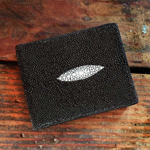 Black Stringray Wallet