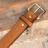 Brown Bison Gun Belt