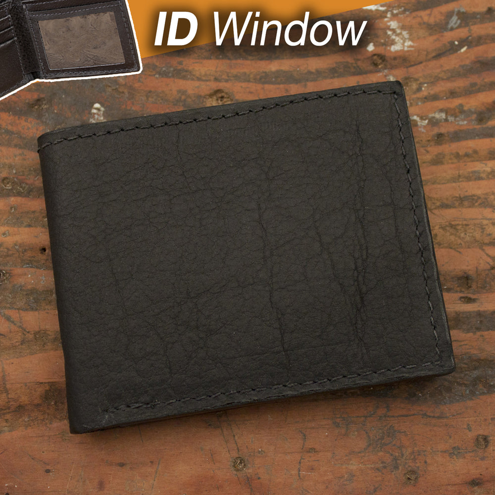 Bison Wallet with ID Window