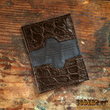 Gator Brown Credit Card Wallet
