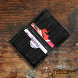 Black Eel Skin Credit Card Wallet