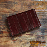 Brown Eel Credit Card Wallet