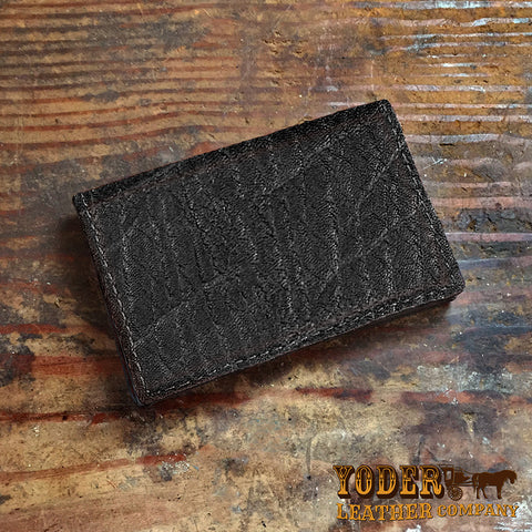 Black Elephant Business Card Holder