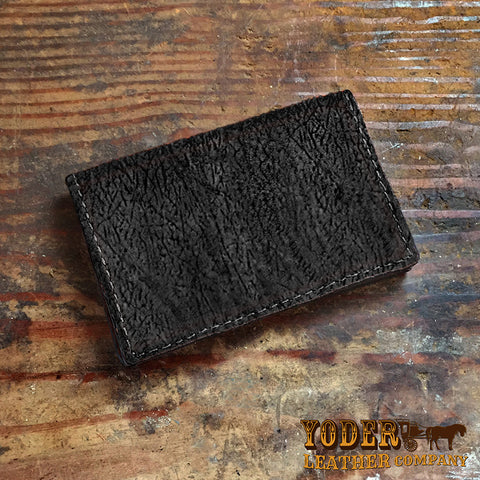 Hippo Hide Leather Credit Card Holder