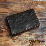 Lizard Leather Credit Card Wallet