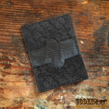 Credit Card Wallet Ostrich Skin