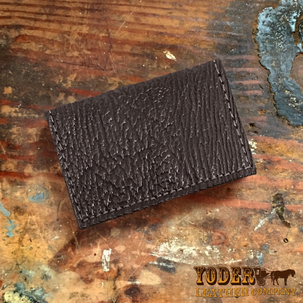 release date 992c3 34b75 Shark Black Card Case