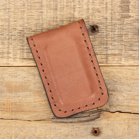 Tan Kangaroo Money Clip