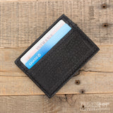 Black Bison Money Clip Wallet