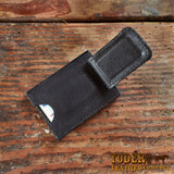 Black Bison Cash Clip Holder