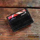 Eel Skin Money Clip Wallet