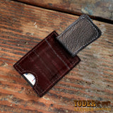 Brown Eel Leather Wallet