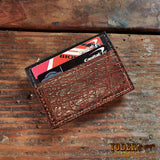 Fire Elephant Hide Magnetic Clip Wallet