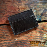 Money Clip Lizard Leather Wallet