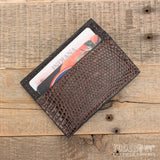 Magnetic Money Clip Brown Tegu Lizard