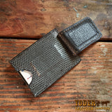Gray Magnetic Money Clip Wallet