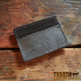 Gray Lizard Money Clip Wallet Magnetic