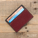 Red Leather Stingray Wallet