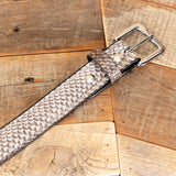 Natural Cobra Dress Belt