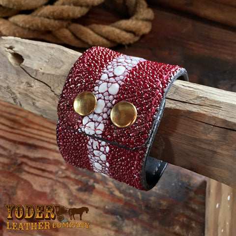 Sting Ray Red Cuff