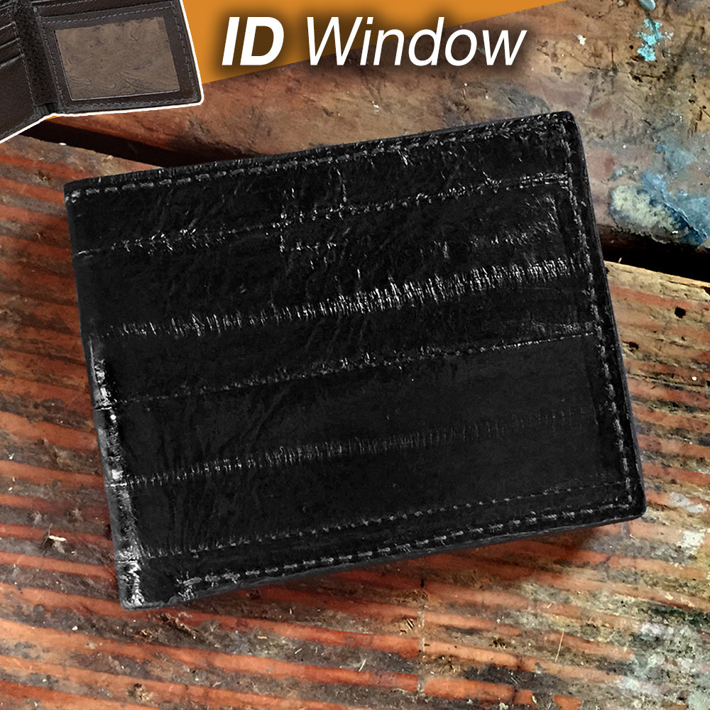 Eel Wallet with ID Window