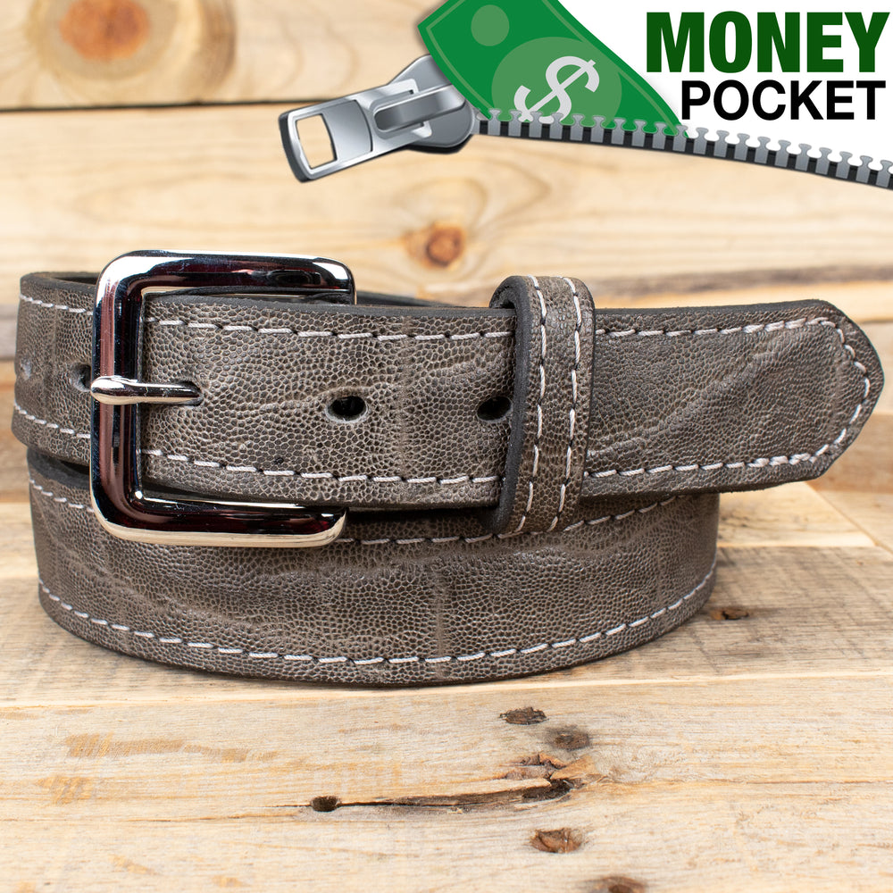 Bullhidebelts Gray Elephant Belt