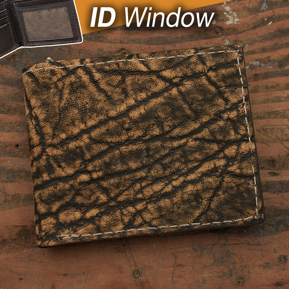 Elephant Wallet with ID Window