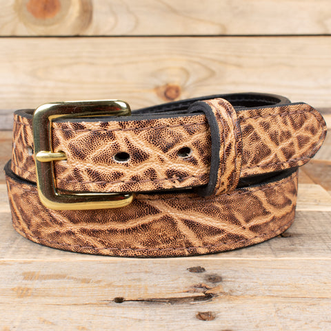 Rustic Brown Elephant Belt