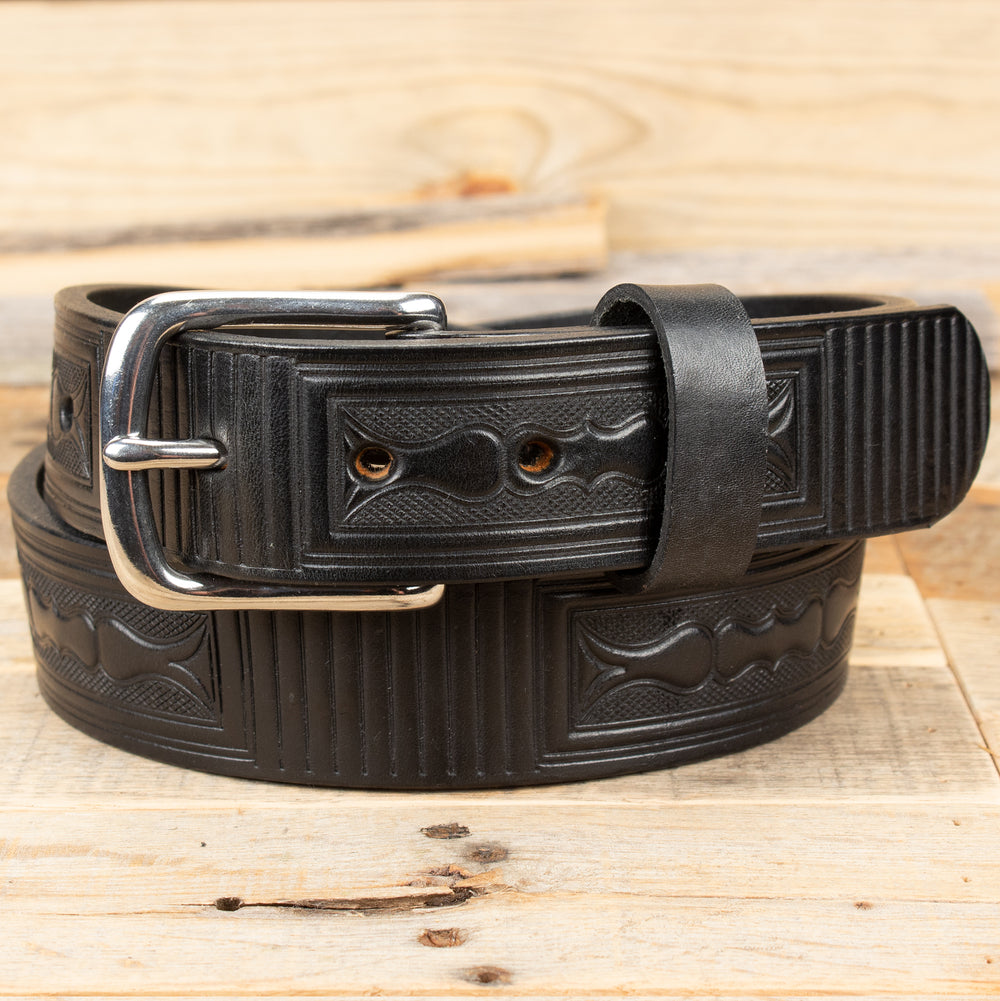 Box Large Embossed Belt