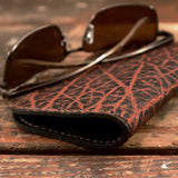 Elephant Leather soft glasses case