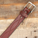 Dark Brown Western Work Belt