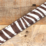 zebra amish belt