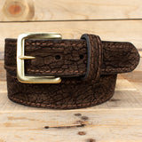 Brown Hippopotamus Belt