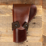 Brown Hippo Banded Revolver Holster