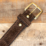 Hippo Hide Amish Belt