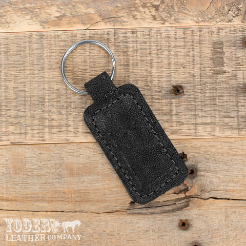 Black Elephant Key Fob