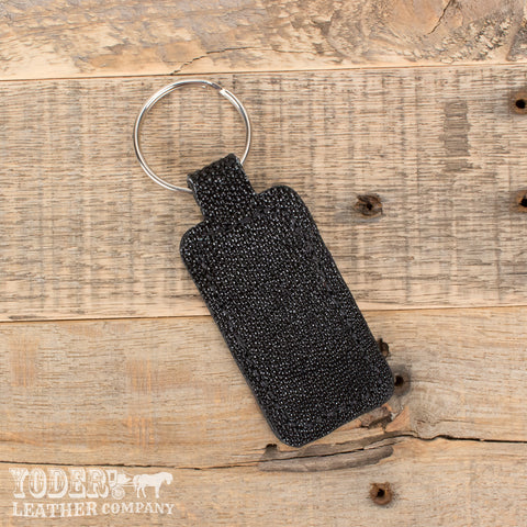 Black Stingray Key Fob