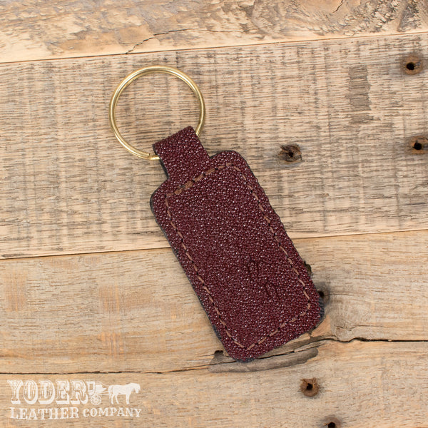 Burgundy Stingray Key Fob